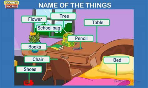 Noun Lesson For Kindergarten Kids