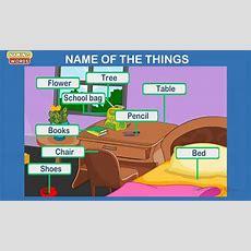 Naming Words  Noun Lesson For Kindergarten Kids Youtube