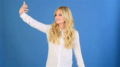Olivia Holt Gifs Williams Buzzfeed Selfie Reaction
