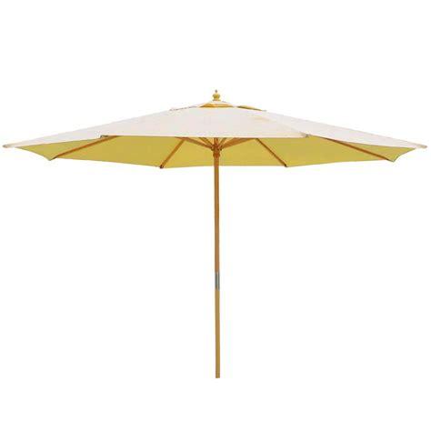 13ft patio german wooden umbrella wood pole outdoor