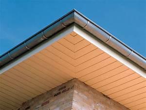 Dachüberstand Verkleiden Material : dach berstand verkleiden mit hohlkammerprofilen aus pvc von inoutic inoutic ~ Markanthonyermac.com Haus und Dekorationen