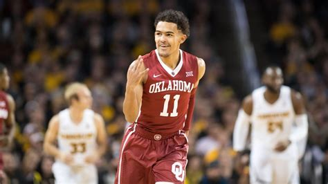 oklahoma sooners trae young    college