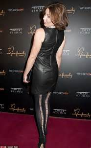 Real Housewives star LuAnn de Lesseps wears leather ...