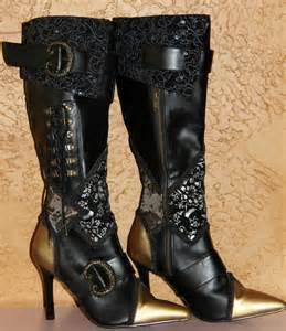 Victorian Steampunk Pirate Boots