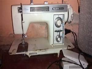 Maquina De Costura Antiga Elgin Zig Zag