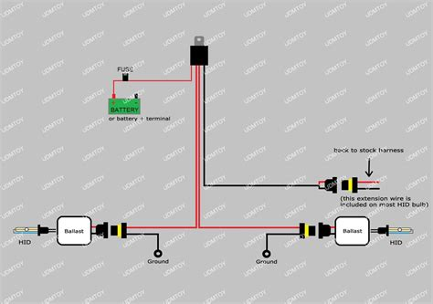 Hid Conversion Kit Relay Wire