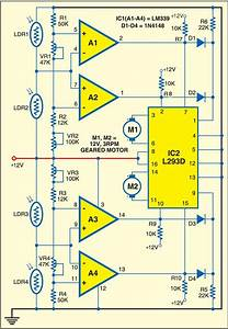 Fig  1  Circuit Of Solar Tracking System