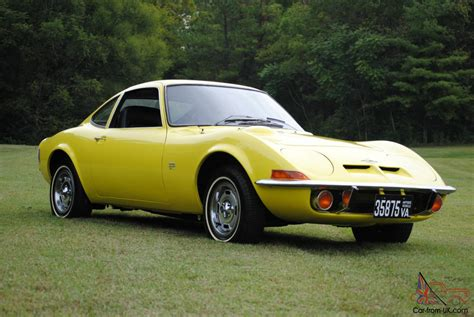 opel car 1970 opel gt original ca car 3rd owner auto