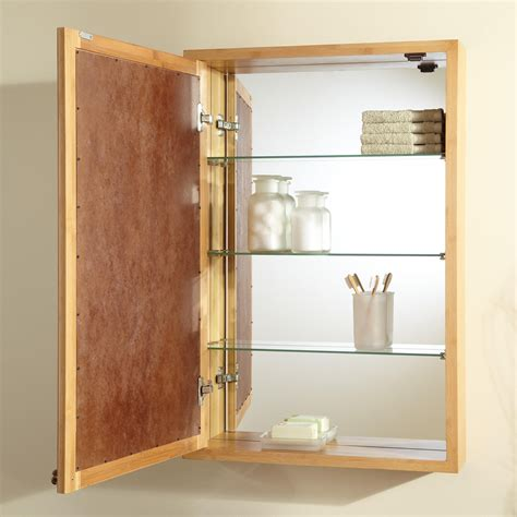 theera bamboo medicine cabinet bathroom