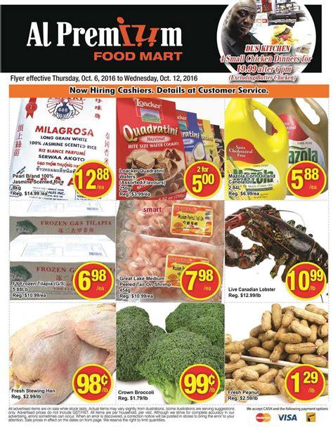 premium cuisines al premium food mart canada flyers