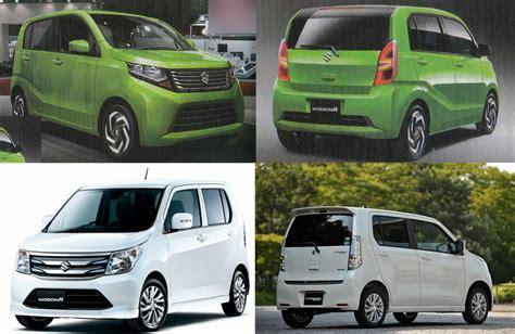 Upcoming Japanese-spec 2017 Suzuki Wagon-R and Stingray ...