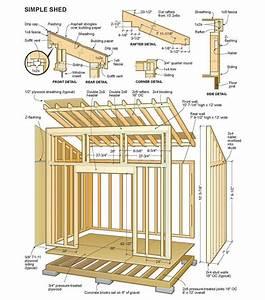 14 X 24 Shed Plans Free   Sheds Blueprints 7 Steps To