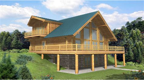 A Frame House Plans With Walkout Basement A-frame House