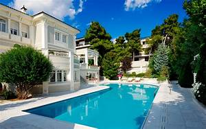 Wallpaper pool, House, luxury, Luxury house with large ...