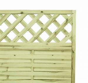 Sichtzäune Aus Holz : lamellenzaun holz gitter 180x180x2 5cm wooder ~ Watch28wear.com Haus und Dekorationen