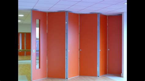 moving designs sliding folding partition youtube