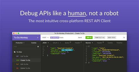 insomnia api design platform  rest client