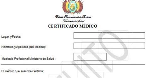 gobierno garantiza validez del certificado de salud gratuito ante criticas del colegio medico