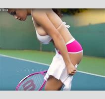 Topless Model Elizabeth Anne Playing Tennis On Youtube Life Life Style Express Co Uk