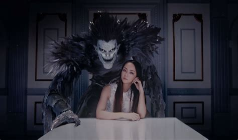 Namie Amuro Cozies With Shinigami Fighter