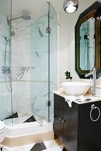 sarah richardson bathroom Corner Shower - Contemporary - bathroom - Sarah Richardson ...
