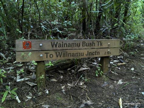 Whatitiri Track to Long Rd Track to Wainamu Bush Track to Smyth Ridge Track to Upper Kauri Track ...