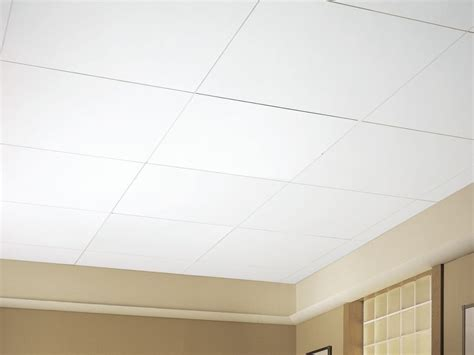 Acoustic Glassfibre Ceiling Tiles Optima Vector By