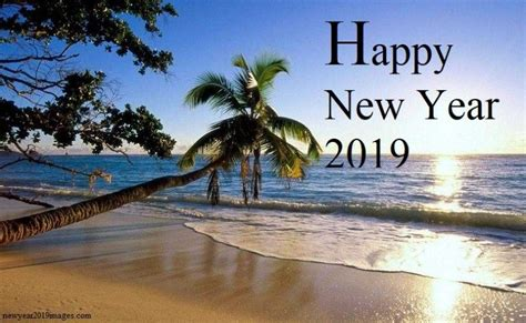 Happy New Year Beach Images 2019