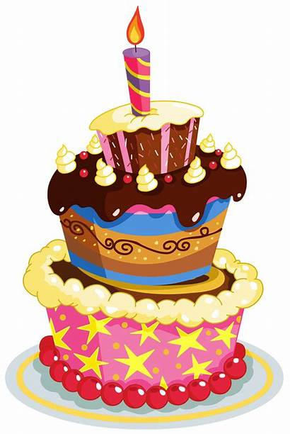 Birthday Cake Clipart Colorful Cakes Transparent Yopriceville