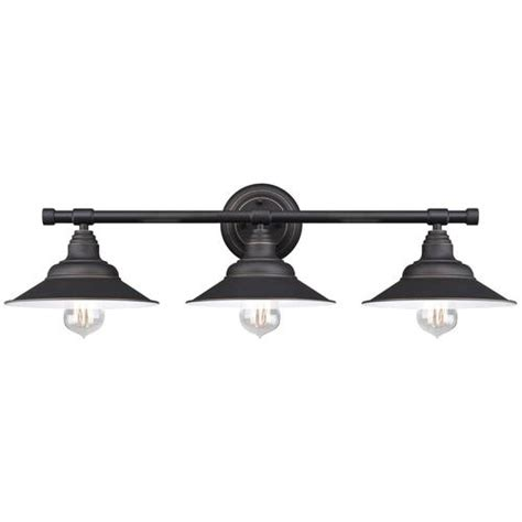 menards bathroom vanity lights westinghouse deansen rubbed bronze 3 light vanity