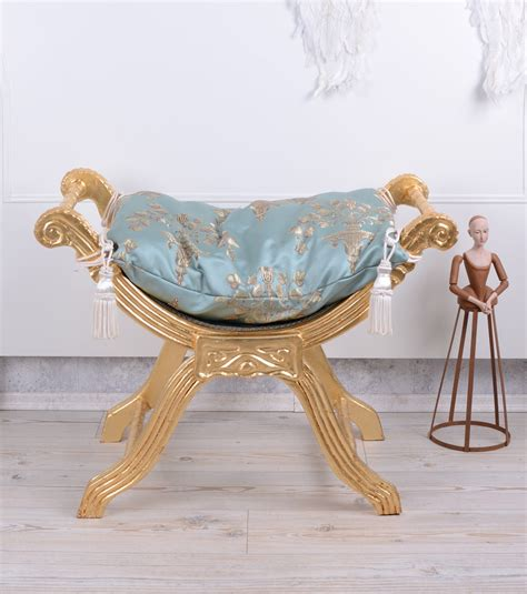 siege baroque baroque siège gondole tabouret banquette antique ebay