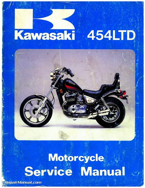 motocross bike repairs 1984 kawasaki en450a1 454 ltd service manual