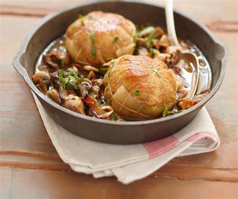 cuisine paupiette de veau recette de cyril lignac paupiettes de veau aux chignons