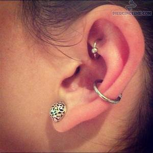 322 best images about Rook piercing on Pinterest   Daith ...