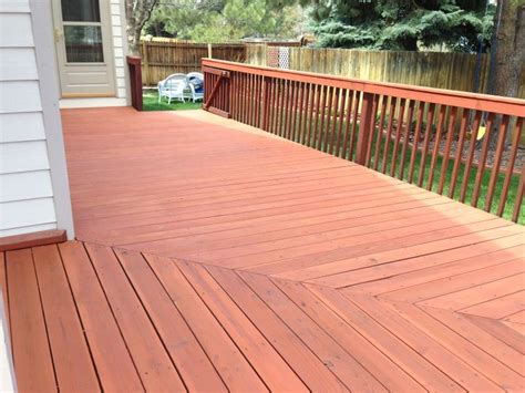 cabot deck stain  semi solid redwood  deck stains