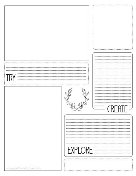 Sewing Project Printable Planner   AllFreeSewing.com