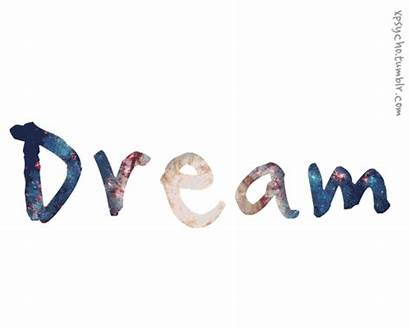 Words Moving Word Animated Dream Dreams True