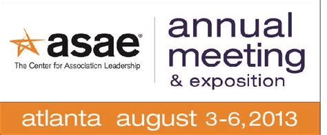 asae annual meeting exposition returns  atlanta