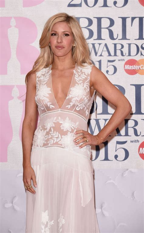 Ellie Goulding – 2015 BRIT Awards in London • CelebMafia