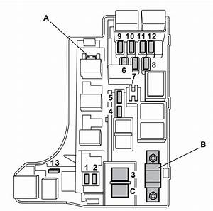 Subaru Impreza  2007  - Fuse Box Diagram