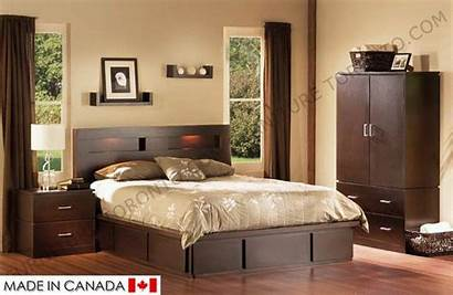 Furniture Bed Modern Diego San Lawrence Double
