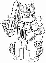 Autobots Coloring Pages sketch template