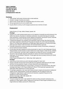 Self Employment Resume Corporate Paralegal Resume Pdf Format E Database Org