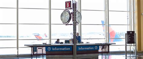 Information Desks Metropolitan Washington Airports Authority