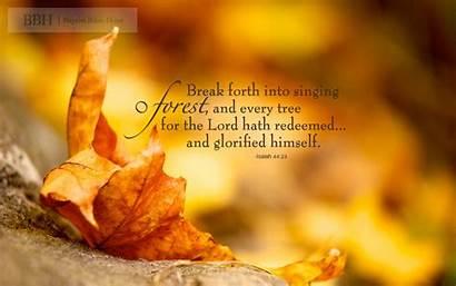 Scripture Autumn Verses Scriptures Fall Bible Forest