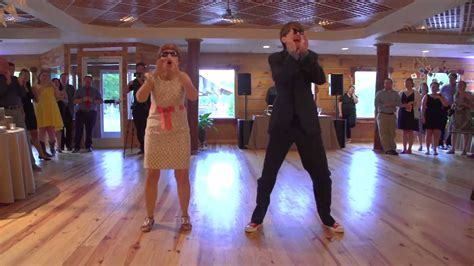 mother  son perform epic wedding dance youtube
