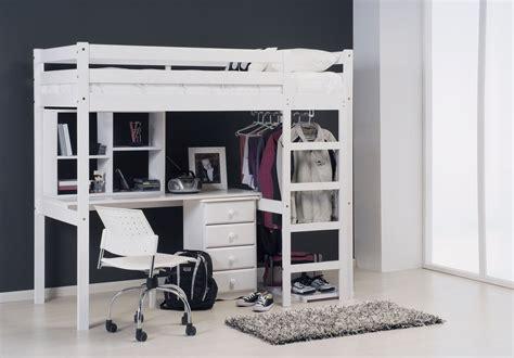 mezzanine bureau lit mezzanine avec bureau pour plus de praticité lit