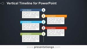 Vertical Timeline Diagram For Powerpoint