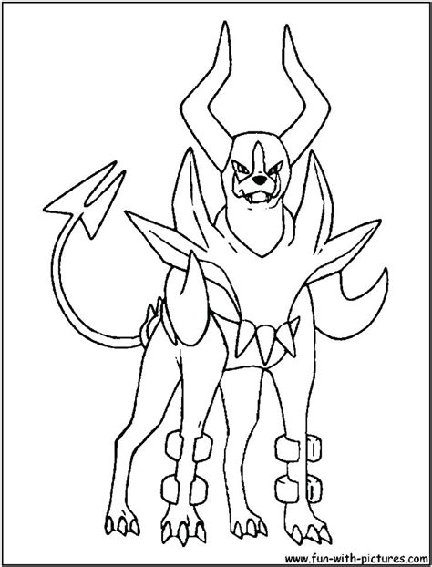 Mega Evelotion Lucario Free Colouring Pages