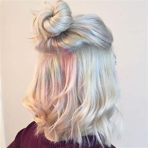 hair whitesilvergrey images  pinterest